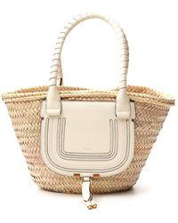 Chloé Marcie Medium Basket Bag - Multicolor