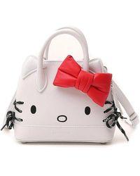 Balenciaga White Hello Kitty Top Handle Bag