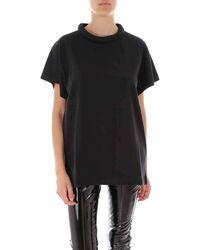 Maison Margiela Crewneck Jersey T-shirt - Black