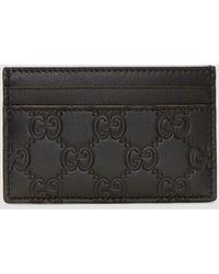 Gucci GG Credit Card Holder - Black