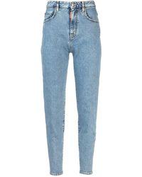 DSquared² Eighties Vita Alta Jeans - Blue