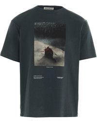 Undercover Throne Of Blood Graphic Print T-shirt - Green
