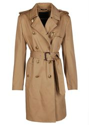 Givenchy Beige Cotton Trench Coat - Brown