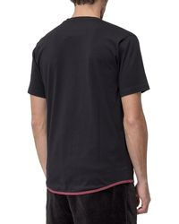 White Mountaineering Front Pocket T-shirt - Black