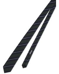 DSquared² Striped Tie - Blue