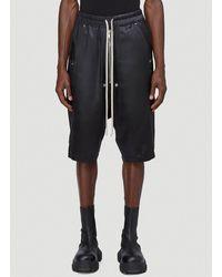 Rick Owens Bela Pods Shorts - Black
