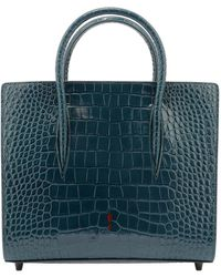 Christian Louboutin Paloma S Medium Tote Bag - Blue