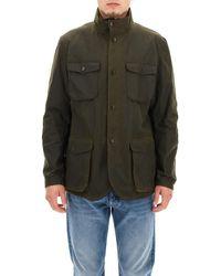 Barbour - High-neck Chest Pocket Jacket - Lyst