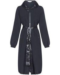 Givenchy Belted Long-line Coat - Black