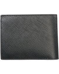 Michael Kors Harrison Crossgrain Bilfold Wallet - Black