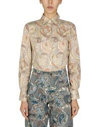 Etro Slim Fit Shirt - Multicolour