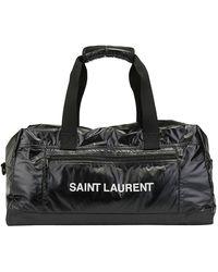 Saint Laurent Nuxx Duffle Bag - Black