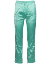 Kappa X Juicy Couture Enea Logo Printed Track Pants - Green