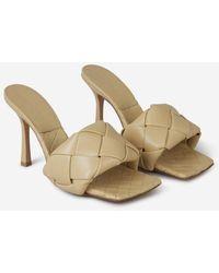 Bottega Veneta Lido Sandals - Natural