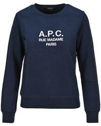 A.P.C. Tina Sweatshirt - Blue