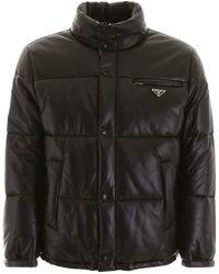Prada Nappa Puffer Jacket - Black
