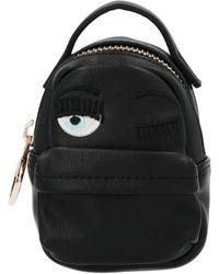 Chiara Ferragni Flirting Eye Mignon Mini Belt Bag - Black