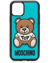 Moschino Teddy Bear Iphone 11 Pro Case - Blue