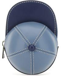 JW Anderson Nano Cap Crossbody Bag - Blue