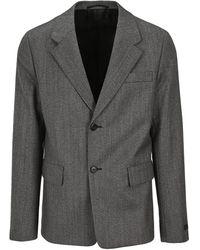 Prada Tailored Blazer - Grey