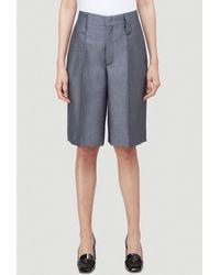 Prada Tailored Bermuda Shorts - Gray