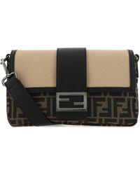 Fendi Baguette Convertible Shoulder Bag - Multicolour
