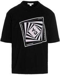 Y-3 Graphic Printed Crewneck T-shirt - Black