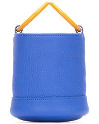 Simon Miller Small Bonsai Bucket Bag - Blue