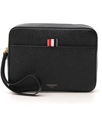Thom Browne - Zipped Pouch Bag - Lyst