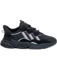 adidas Originals Ozweego Lace-up Trainers - Black