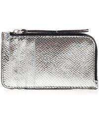 Isabel Marant Zipped Card Holder - Metallic