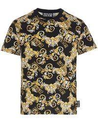 Versace Jeans Couture Baroque Print T-shirt - Multicolor