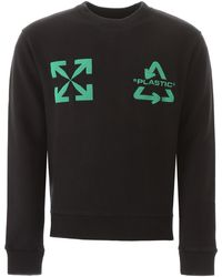 Off-White c/o Virgil Abloh Embroidered Sweater - Black