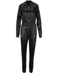 Rick Owens Performa Bodybag Jumpsuit - Black