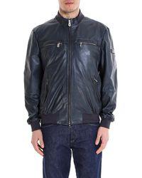 Peuterey - Zip-front Biker Jacket - Lyst