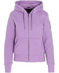 Moose Knuckles Other Materials Sweatshirt - Purple