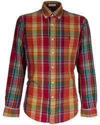 Ralph Lauren Logo Checked Shirt - Red