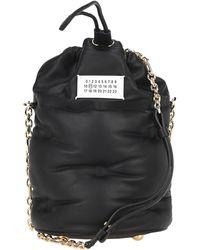 Maison Margiela Drawstring Bucket Bag - Black