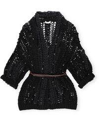 Brunello Cucinelli Sweaters Black