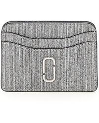 Marc Jacobs The Snapshot Glitter Card Case - Metallic