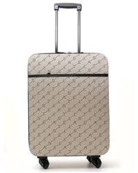 Stella McCartney Logo Suitcase - Natural