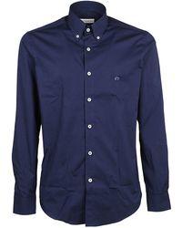 Etro - Buttoned Long-sleeve Shirt - Lyst
