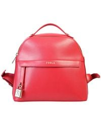 Furla Piper Backpack - Red