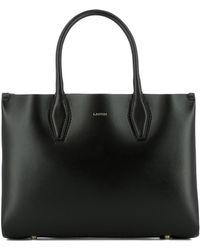 Lanvin - Journée Logo Tote Bag - Lyst