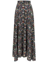 Zadig & Voltaire Joyo Kaleido Maxi Skirt - Multicolour
