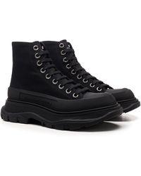 Alexander McQueen Tread Slick Boots - Black