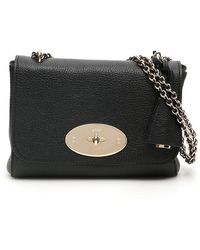 Mulberry Classic Grain Lily Bag - Black