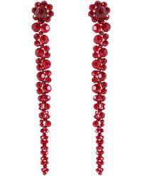 Simone Rocha - Drop Embellished Earrings - Lyst