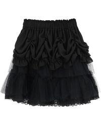 Simone Rocha Tutu Mini Skirt - Black