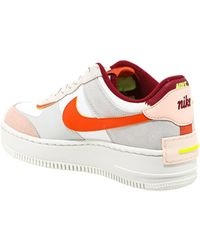 Nike Air Force 1 Shadow Sneakers - Multicolour